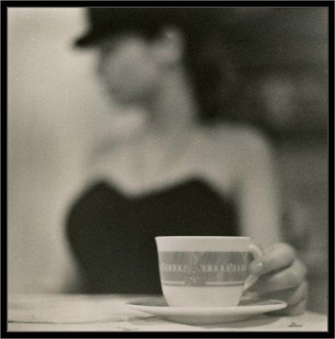 Ретро чашечка кофе