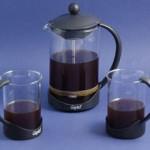 Виды кофеварок: френчпресс