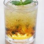 Рецепт освежающего напитка из минеральной воды и кофейного льда