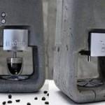 Кофеварка из… бетона!