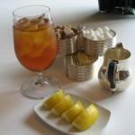 Рецепт чая с игристым вином