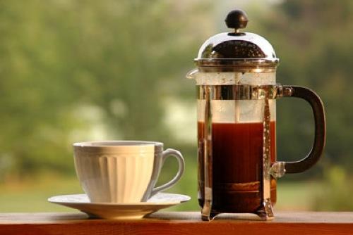 Кофе, кружка в профиль