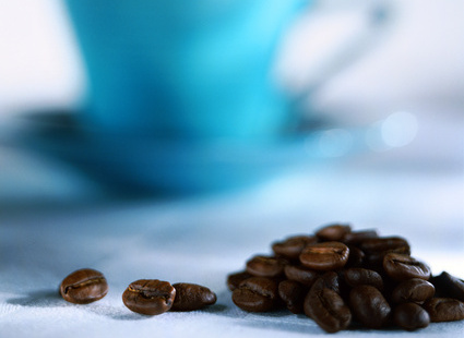 Немного кофейных зерен