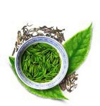 Арт на тему зеленого чая