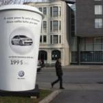 Автомобили рекламируют при помощи кофе