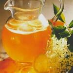Рецепт приготовления чайного крюшона с цветами бузины