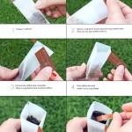 Волшебное превращение стикера