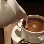 Рецепт приготовления черного кофе с молоком