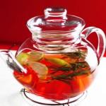 Рецепт приготовления чая с лимоном, имбирем и розмарином