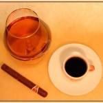 Рецепт приготовления кофе с коньяком