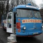 В Киеве появился «Кофейбус»