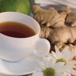 Весной полезно пить чай с имбирем
