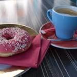 Пончик с кофеином