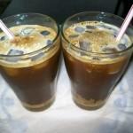 Рецепт приготовления ледяного кофе с карамелью и корицей