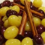 Рецепт приготовления эспрессо с виноградом