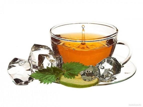 Чашка освежающего чая
