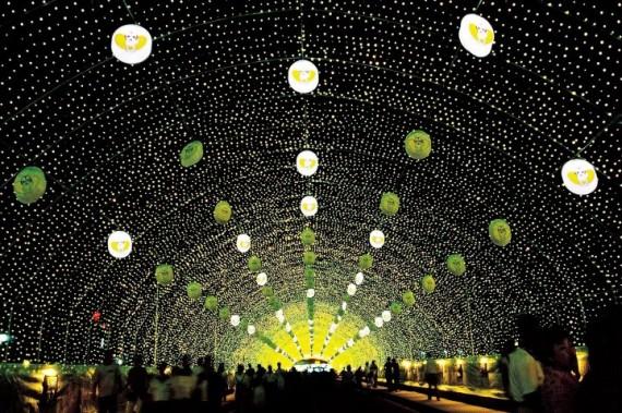 Фестиваль света в Посоне
