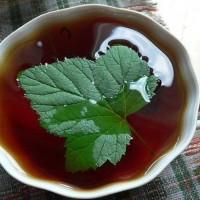 чай с чёрной смородиной