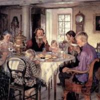 Чай в древней Руси