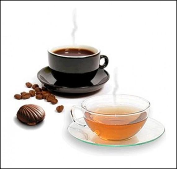 В чашку потому что именно так употребляют кофе настоящие бразильцы