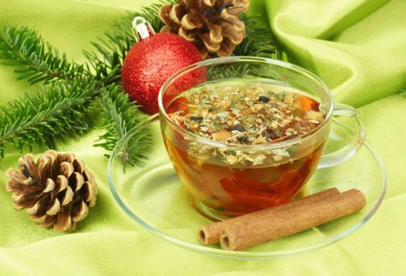 Чай из еловых шишек