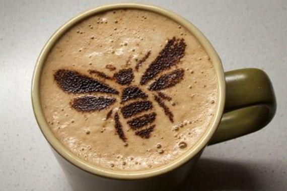 Пчёлки тоже любят кофе!