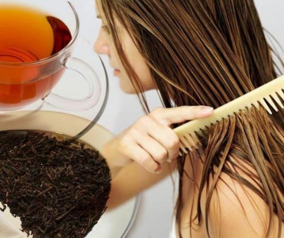 Черный чай предотвращает выпадение волос