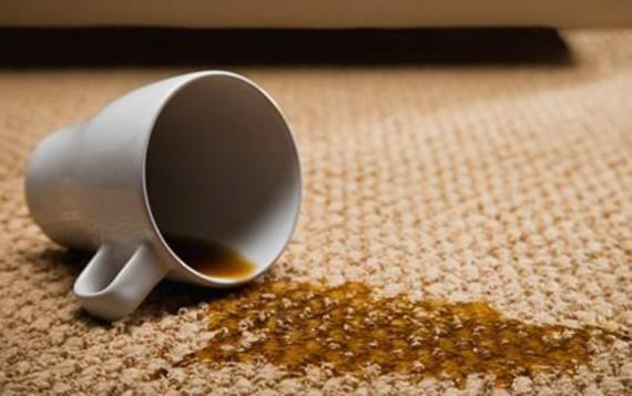 Как удалить пятна от чая