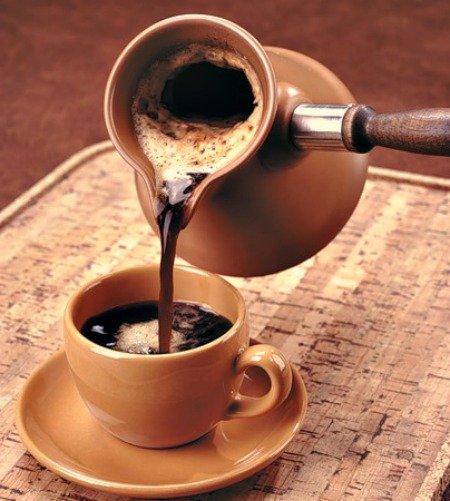 Как варить черный кофе