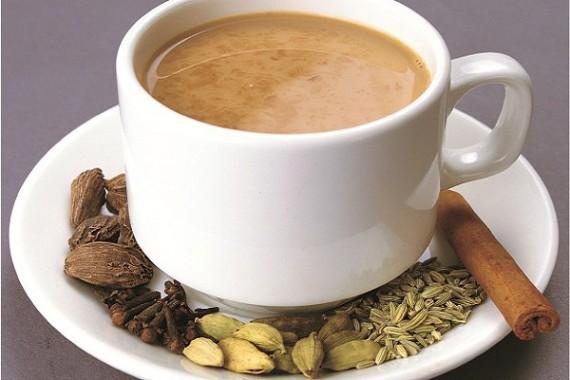 Чай с внесением индийских мотивов