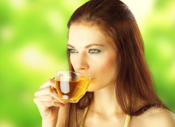 Зеленый чай полезен для женской красоты