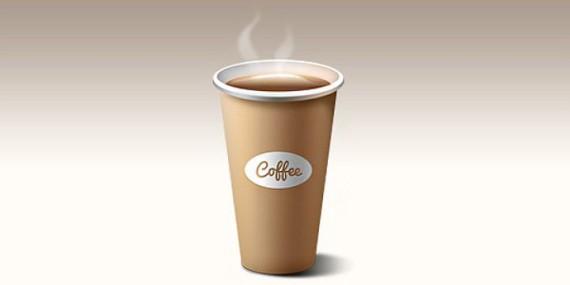 Кофе в пластиковых стаканчиках