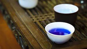Полезный синий чай