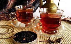 Черный чай - косметика для лица