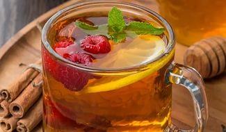 Чай с добавлением малины