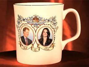 Коллекция министра Германии – чашки с портретами королевского семейства