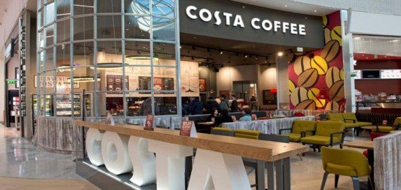 Испания: стоимость кофе в кафетерии Барселоны