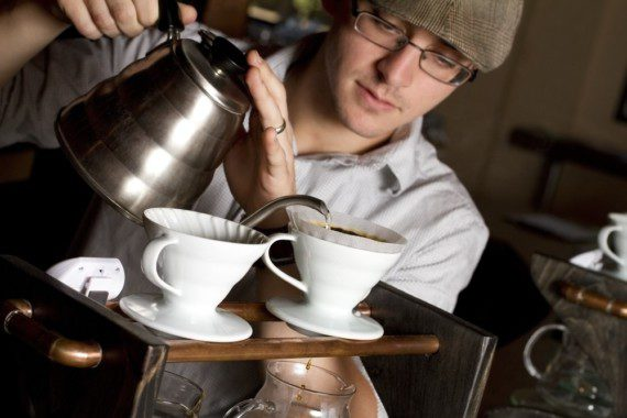 Литовскими бариста открыта в Казахстане кофейня