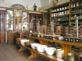 фабрика в виде музея кофе