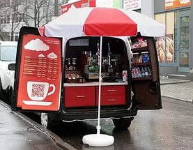 передвижные кофейни