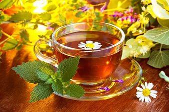 Чай отлично избавляет от стресса